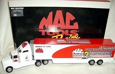 Action 1 64 MAC MAC MAC TOOLS GATORNATIONALS NHRA HAULER 1996 12b4bf