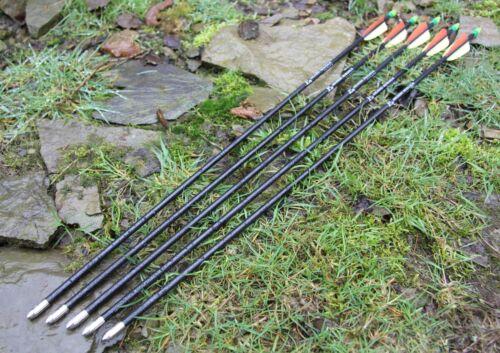 """EK Archery Fiberglass Arrows Compound Recurve Bows BULK ARROWS DEALS 26/"""" 28/"""" 30/"""""""