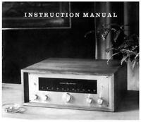 Marantz Model 10b User Owner Manual Guide Twenty Two For Stereo Receiver