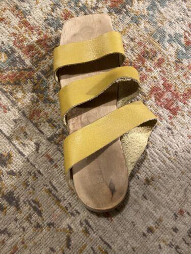 Wooden Trippen Sandals Size 39