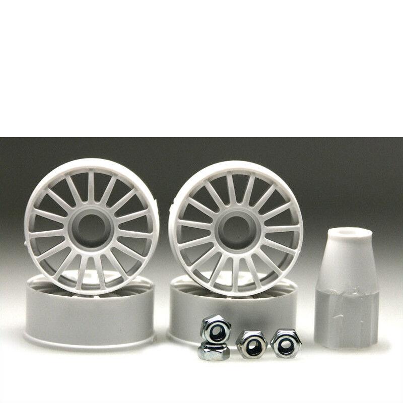 Llanta 1 24 15-Speichen whiteo 8.5mm 4 Piezas Mini-Z Kyosho MZH-01 703998