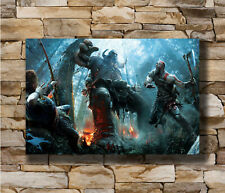 God of War Game Hot Wall Poster Art 20x30 24x36IN N-740 Kratos