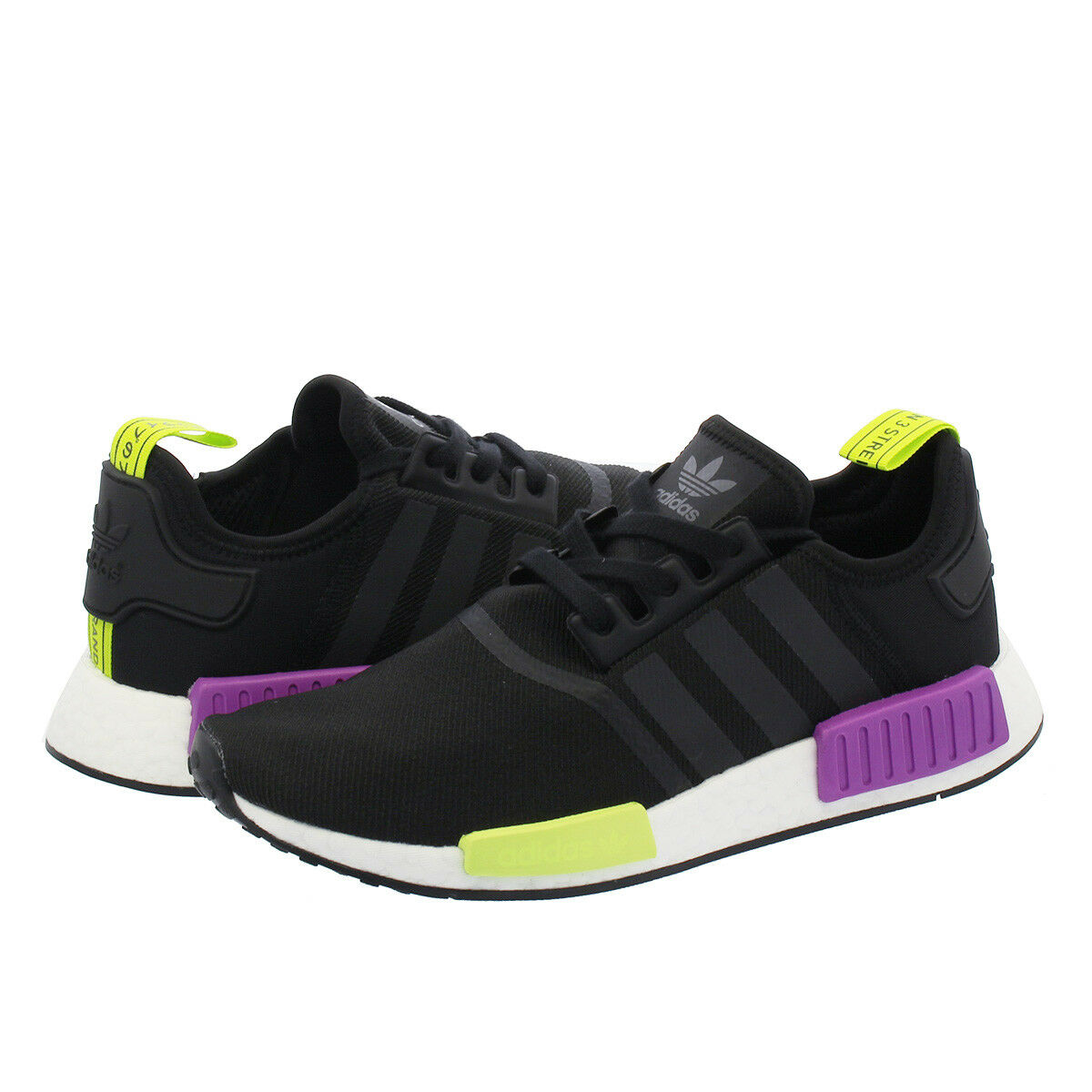 Adidas Nmd_R1 Chaussures Hommes Core Noir Choc Violet D96627 Taille 8-13