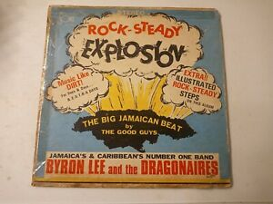 Byron-Lee-And-The-Dragonaires-Rock-Steady-Explosion-Vinyl-LP-1968