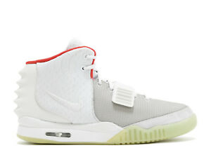 new arrivals 49bbc 94ada Image is loading NIKE-AIR-YEEZY-2-NRG-PURE-PLATINUM-DEADSTOCK