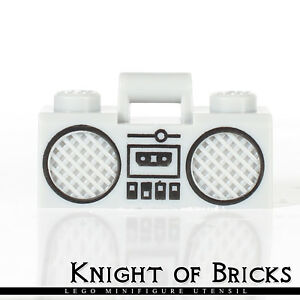 LEGO BOOM BOX RADIO LOT TOWN CITY FOR MINIFIGURES MUSIC
