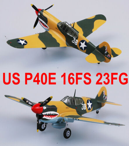 Easy Model 1/72 US P40E 16FS 23FG 1942 #37274