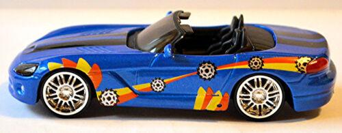 DODGE viper srt10 roadster 2003-10 street tuner Bleu Blue Metallic 1:43 Bburago