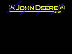 John Deere Fenêtre Autocollants/decals-afficher Le Titre D'origine Performance Fiable