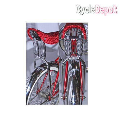 "Lowrider Bicycle Bike Dual Suspension Sissy Bar 20/"" Black CRUISER 232864 NEW!"