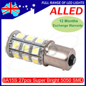 12V-27-SMD-LED-1156-BA15S-Bulb-Single-Connector-RV-Car-Tail-Light-Reverse-Lamp