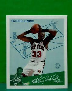Patrick Ewing insert card Goudey Greats 1997-98 Fleer #3