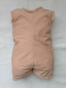 """Full Unjointed Arms Full Jointed Legs #1635GW German Flannel Body for 28/"""" Dolls"""