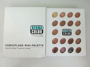 Details about Kryolan Dermacolor Camouflage Creme 18 colors Mini Palette  Vitiligo/tattoo 71018