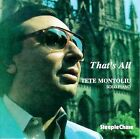 That's All by Tete Montoliu (CD, SteepleChase)
