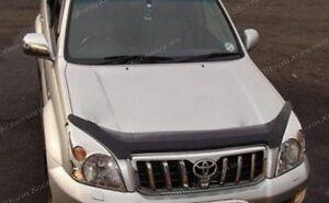 Toyota Land Cruiser Prado LC120 2003-2009 Bonnet Guard Protector (Dark Smoke)