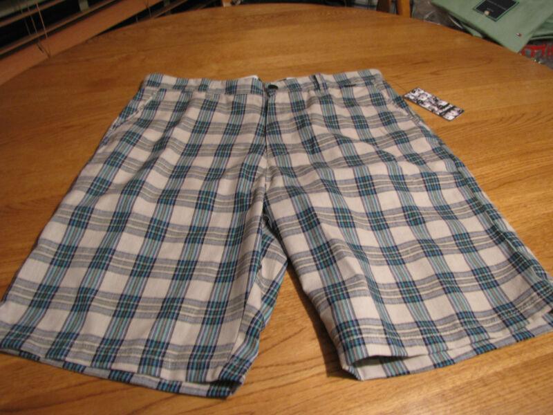 Uomo Hurley 30 Pantaloncini Passeggiata Casual Tbox Mw606tbx Ash Grigio Verde