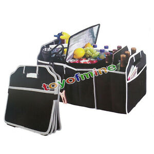 New-Collapsible-Car-Boot-Organiser-Shopping-Trunk-Space-Saving-Foldable-Storage