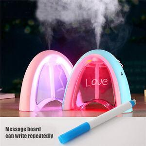 LED Home Aroma Difusor Humidificador Ultrasónico Aire Aromaterapia Purificador