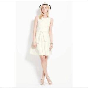 283d29f4c5 NEW ANN TAYLOR Tie Waist Shirt Waist Dress Pockets NWT $149 Winter ...