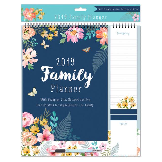 tallon 2017 family organiser calendar shopping list pen 4