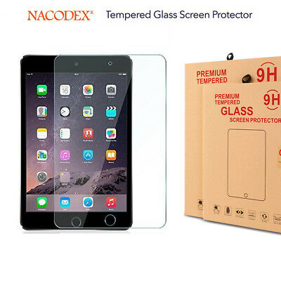 Nacodex HD Tempered Glass Screen Protector For Apple iPad Pro 11 2018 2-Pack