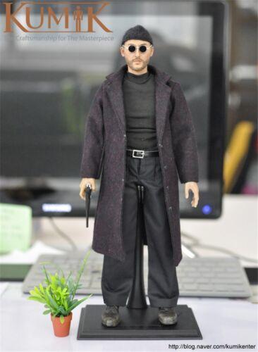 "KUMIK Figure 1//6 Scale This killer is not too cold Jean Reno 12/"" Figure KMF038"