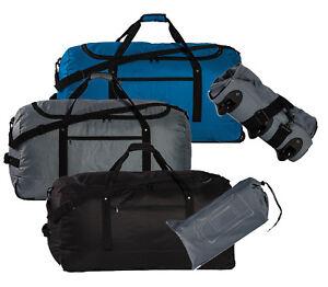 XXL-Faltbar-Rollenreisetasche-Reisetasche-mit-Etui-Koffer-Trolley-100-l-900-g