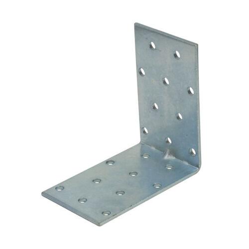 Edelstahl Flachverbinder 200 x 40 mm V2A Holz Verbinder Lochblech 20x4 4x20 cm