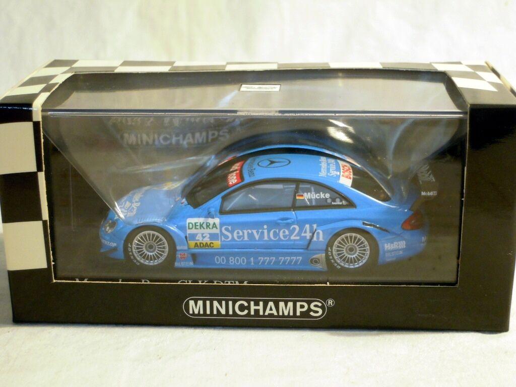 Minichamps 400033242  MERCEDES CLK Coupé, DTM 2003,  42 pagg. ronza, NUOVO & OVP
