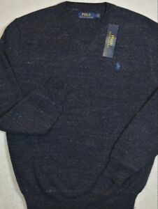 Polo-Ralph-Lauren-Sweater-Crewneck-Pullover-Navy-Heather-Size-XXL-NWT
