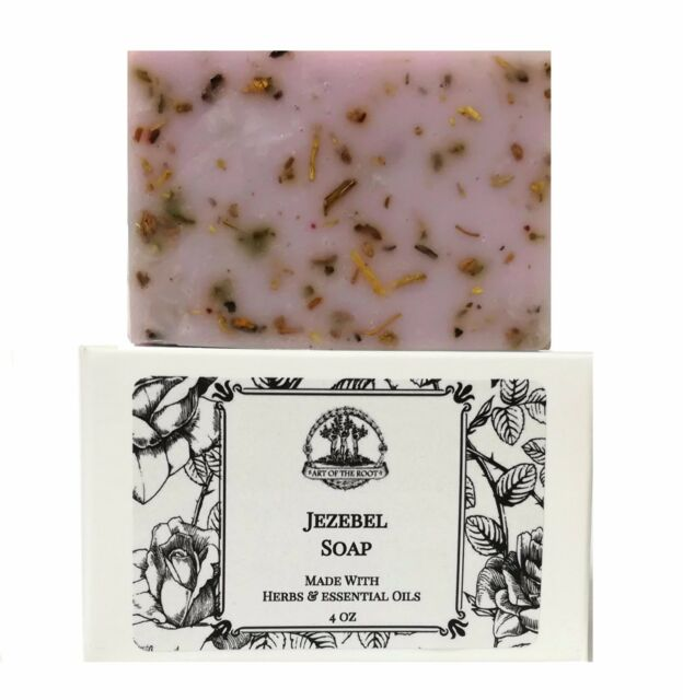 Jezebel Shea Butter Soap Power Attraction of Wealthy Men Wiccan Pagan Hoodoo