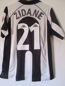 315ae8db4 Juventus 1997-1998 Zidane 21 Home Football Shirt Size Medium  41959 ...