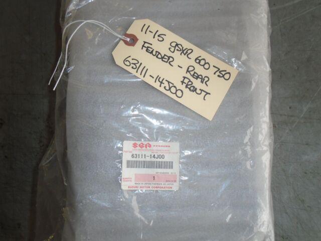 656 11-16 SUZUKI GSXR600 REAR BACK TAIL UNDERTAIL BATTERY TRAY PLASTIC