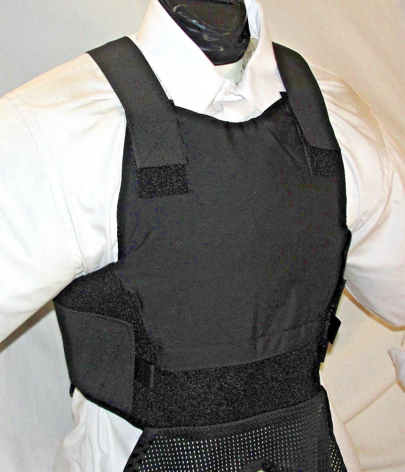 New Medium Lo Vis Concealable  Carrier  IIIA Inserts Body Armor BulletProof Vest  save 60% discount