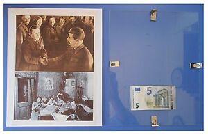 Bielorussia-liberata-giogo-polacco-URSS-Comunismo-quadro-cornice-vetro-cm-30x24