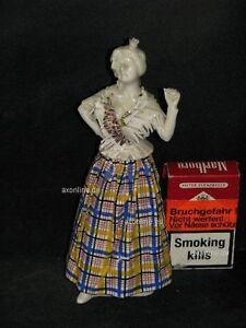 + # A001330_08 Goebel Archive Motif Rococo Dame Femme Tient Un Bras élevé Ff319-afficher Le Titre D'origine
