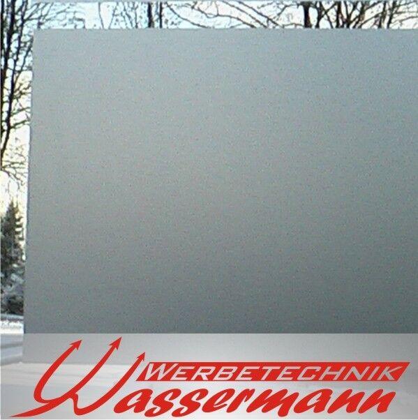 (  m²)   X-film Sichtschutz Ätzglas Milchglas-Folie, 5m in 124cm Breite
