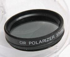 37mm C-PL Polarizer Photo Filter for Camera Lens Eitar w/Case - BULK NEW G10B
