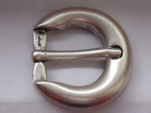 Gürtelschnalle Schließe Schnalle 2,6 cm silbermatt NEUWARE  rostfrei #223#