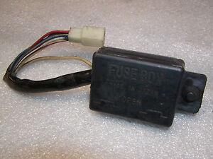 Sicherungskasten Glühbirne K-750 Headlight fuse Indicator lamp fuse box