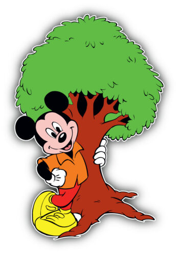 Mickey Mouse Cartoon Tree Sticker Bumper Decal /'/'SIZES/'/'
