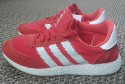 Adidas Iniki Runner trainers with boost BNIBWT ultra comfy RED