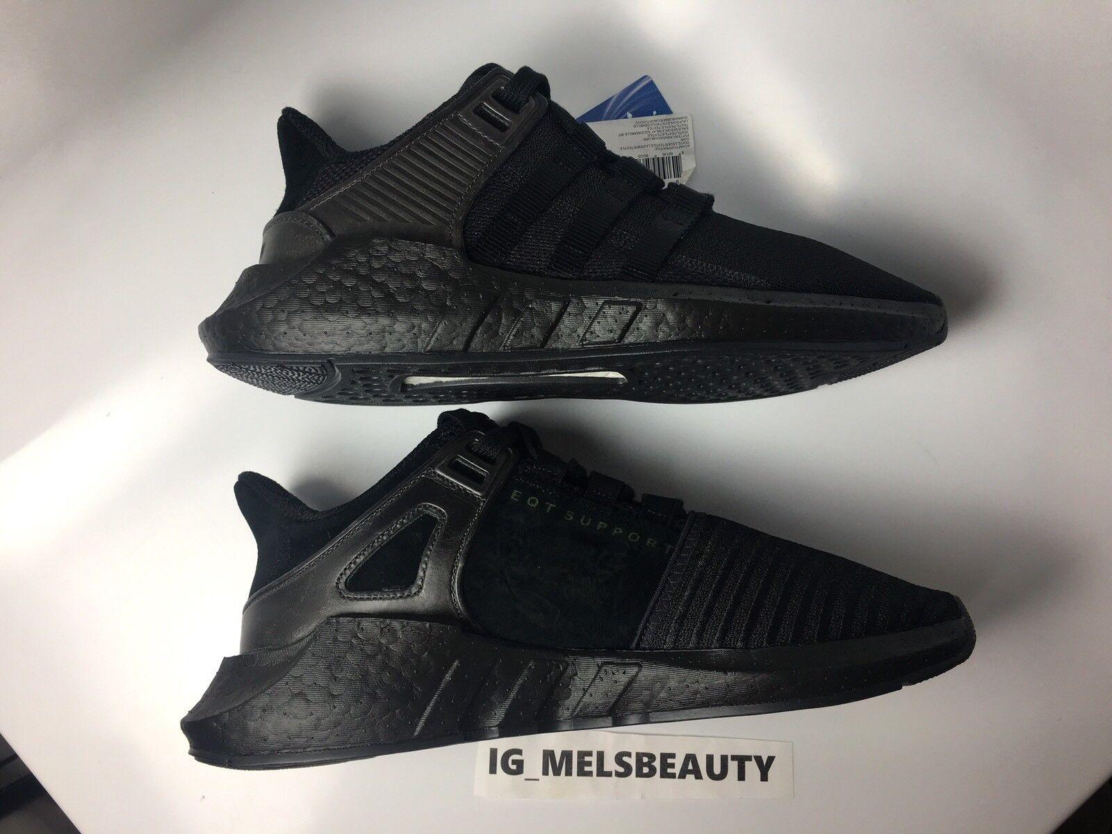 Adidas EQT Support 93/17 Core Noir CUSTOM Triple Noir