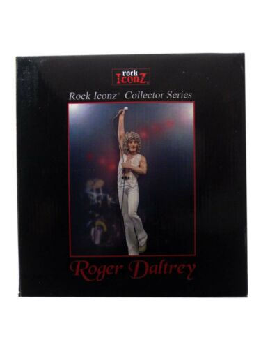 Limited Statue SOLD OUT Knucklebonz Roger Daltrey Rock Iconz The Who Hits 50