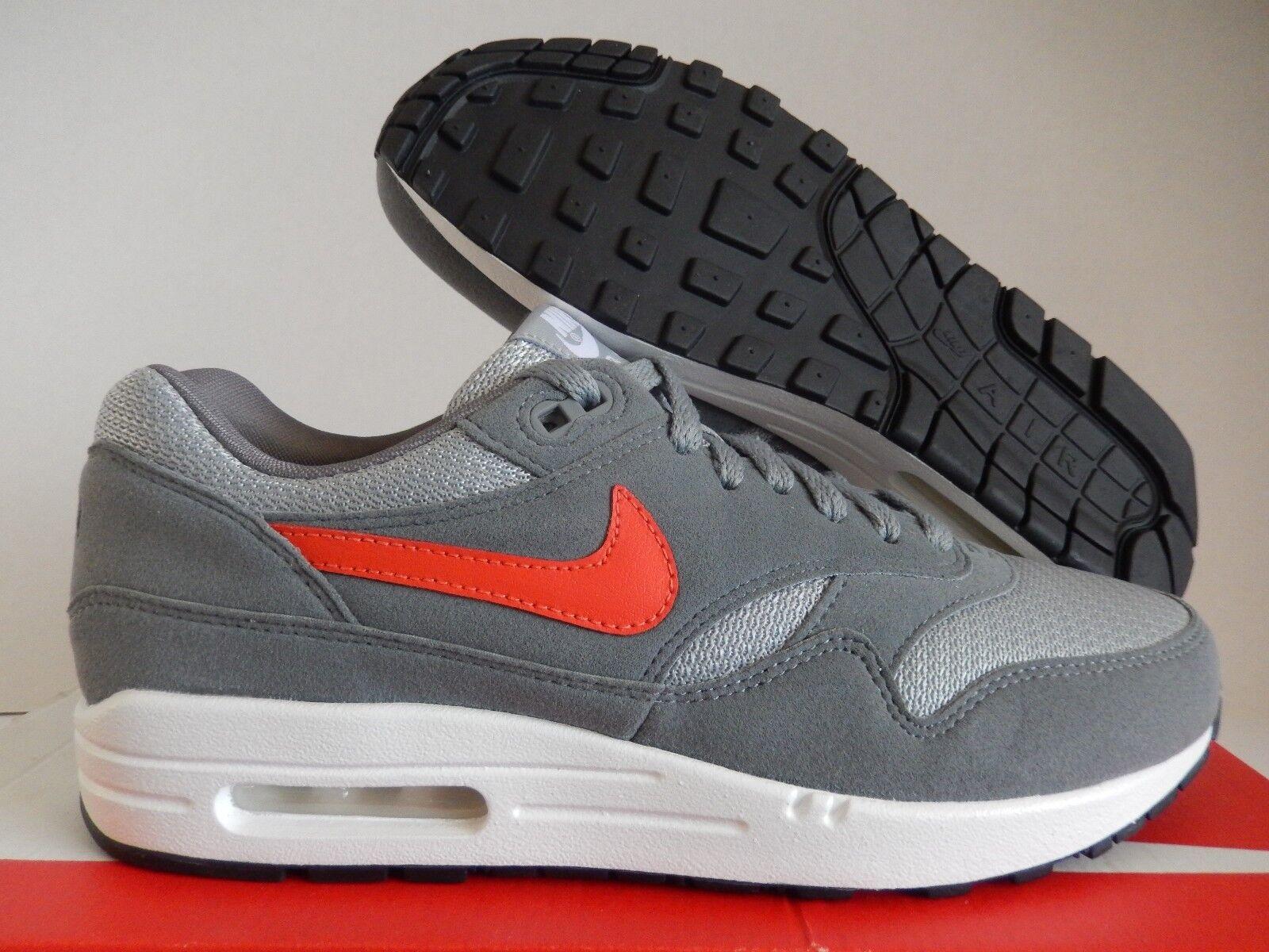 Nike buio air max 1 id buio Nike grey-grey-red sz 8 reti alluce![943756-993] a1a79d
