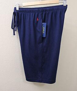 970bc6611 Polo Ralph Lauren Men navy blue supreme comfort sleep Lounge shorts ...