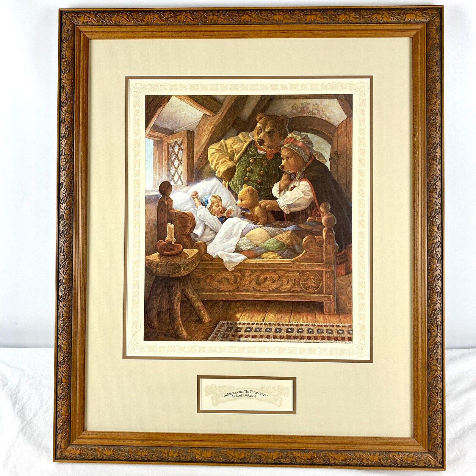 "Scott Gustafson ""Goldilocks and the Three Bears"" Limited Edition Framed Print on eBay thumbnail"