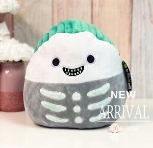 "Squishmallow Halloween Nightmare Before Christmas 12"" Boogie Boy Barrel NEW HTF"