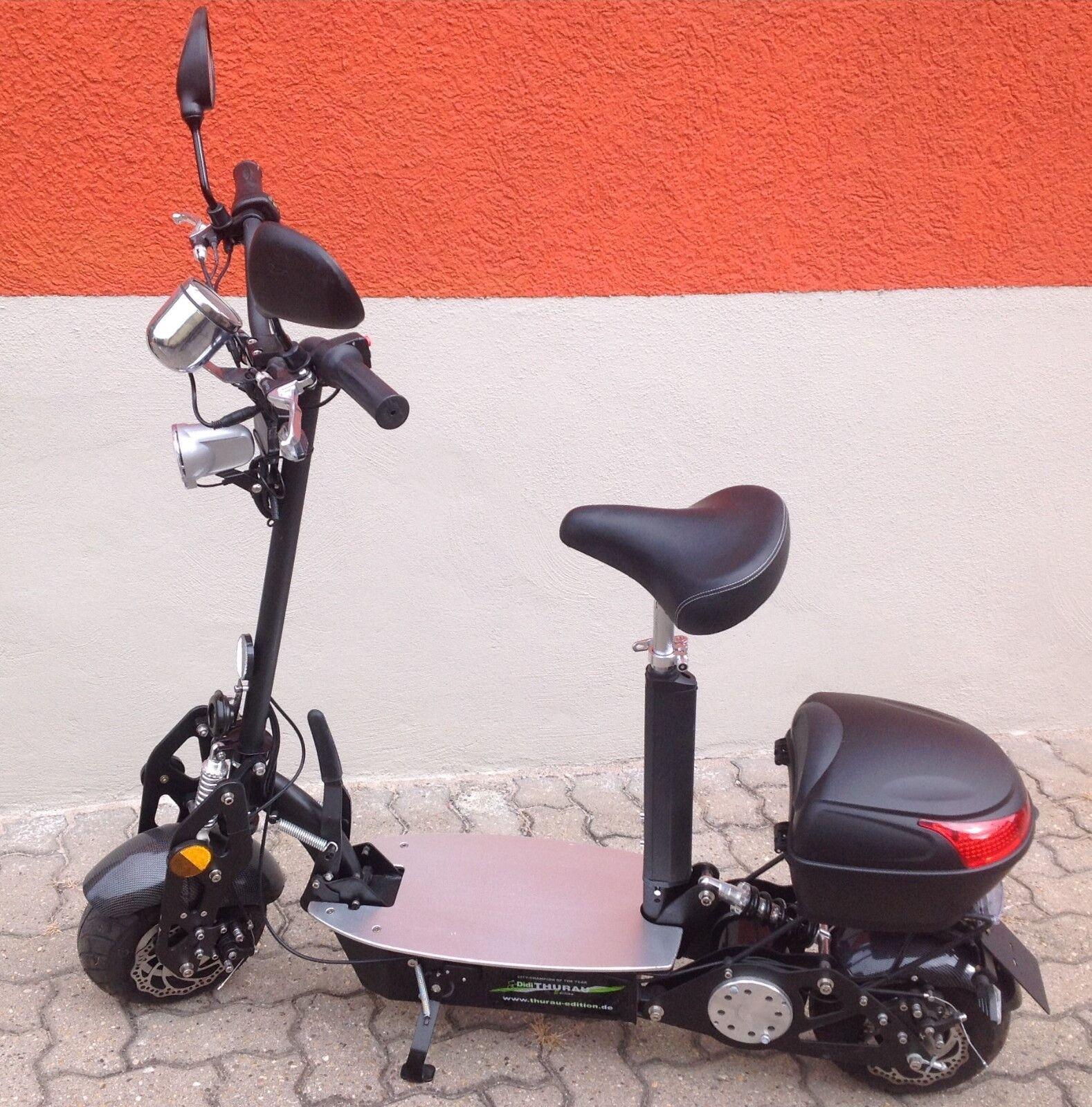 City-Roller, Zulassung, Blinkanlage, Topcase, Korb, neuestes Model